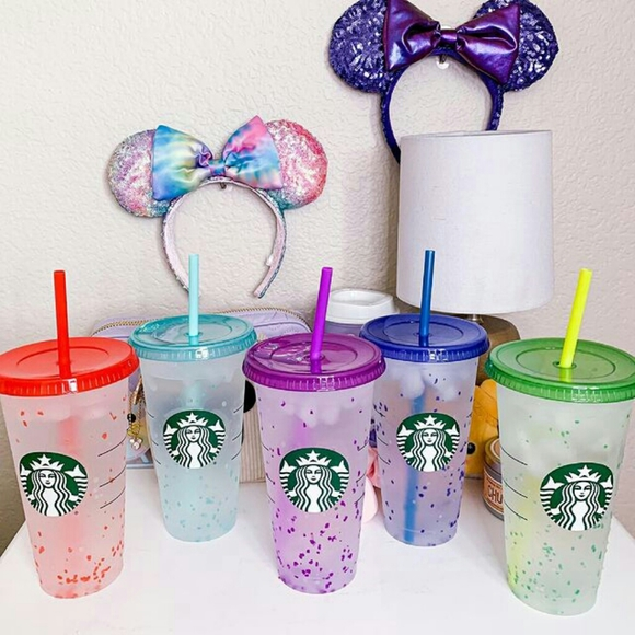 ✨RARE Starbucks Color Changing Cups